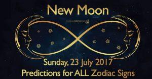 New Moon in Leo – Sunday, 23 July 2017