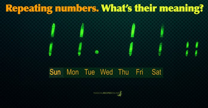Repeating Numbers and their Meanings