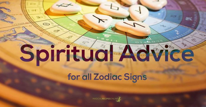Spiritual Advice for all Zodiac signs