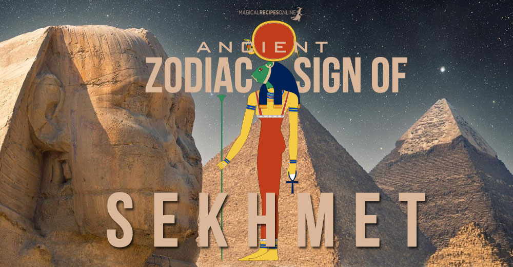 Sekhmet zodiac Sign