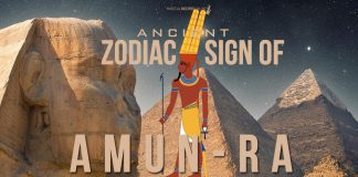 Amun-Ra Zodiac Sign