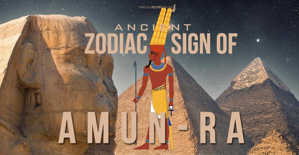 Amun-Ra Zodiac Sign