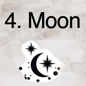 4. Moon and the Stars