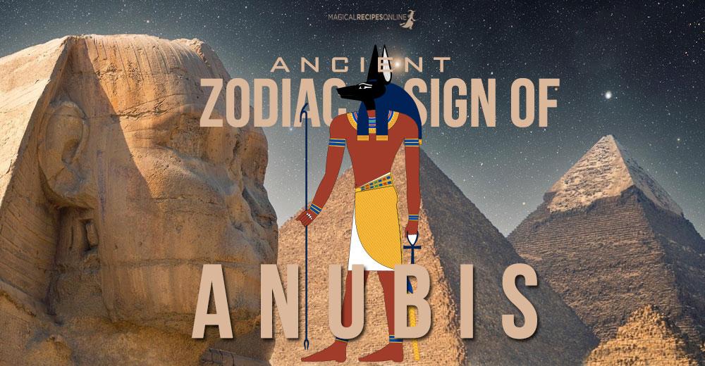 Anubis Zodiac Sign