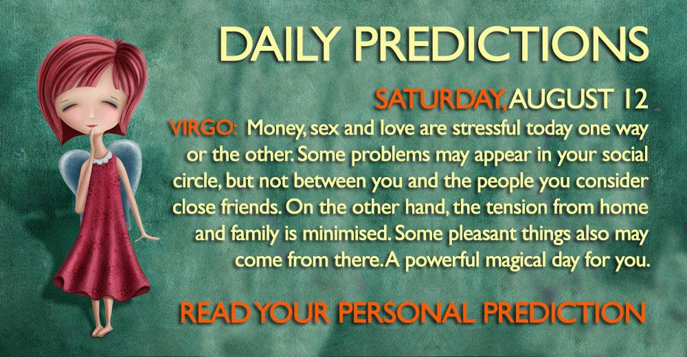 daily predictions august 11 2017daily predictions august 12 2017