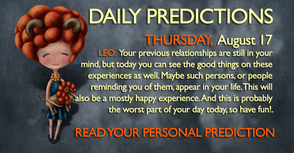 daily predictions astrology horoscope august 17 Thursday 2017
