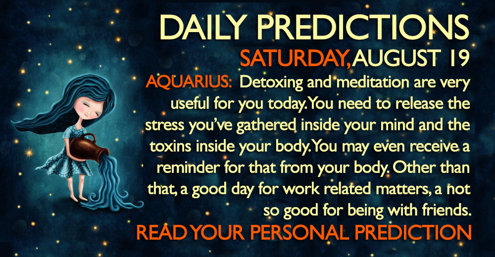 daily predictions horoscope astrology