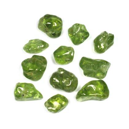 CrystalAge Peridot Mini Tumble Stones