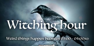 The Witching Hour - Weird things happen between 03:00 - 04:00AM