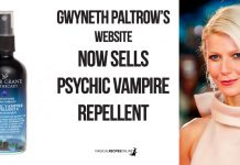 Goop - Gwyneth Paltrow's website sells anti-Vampire Repellent