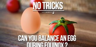 Egg Balancing on the Equinox - can this be Real?