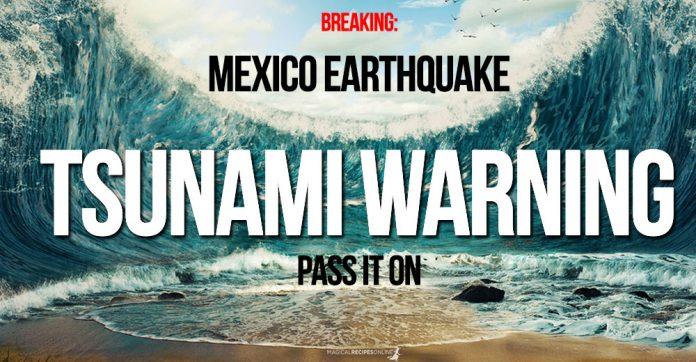 Breaking: Mexico deadly Earthquake 8,2 - Tsunami Warning
