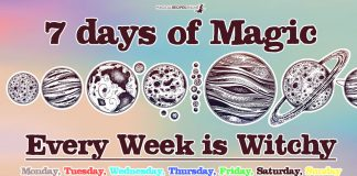 7 Magical Days of the Week