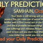 Daily Predictions for Tuesday, 31 October 2017