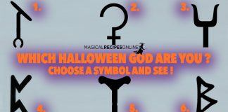 Which Halloween God - Goddess are you? Pick a Symbol!