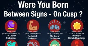 Were You Born Between Signs - On Cusp ?