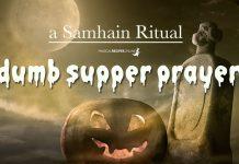 Dumb Supper Prayer