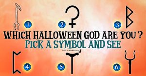 Which Halloween God – Goddess are you? Pick a Symbol!