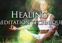 A Healing Meditation technique