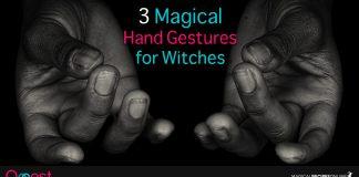 3 Hand Gestures - Mudras for Magic