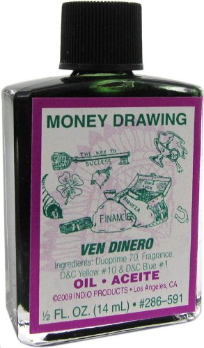 Money Drawing Oil by Indio Products