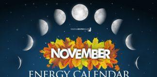 November Energy Calendar