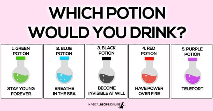 Which Potion Would You Drink ?