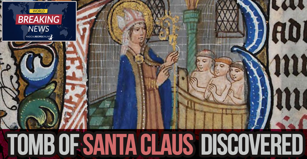 Santa Claus's tomb Discovered?
