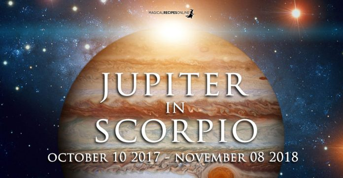 Jupiter in Scorpio - A new era has started!