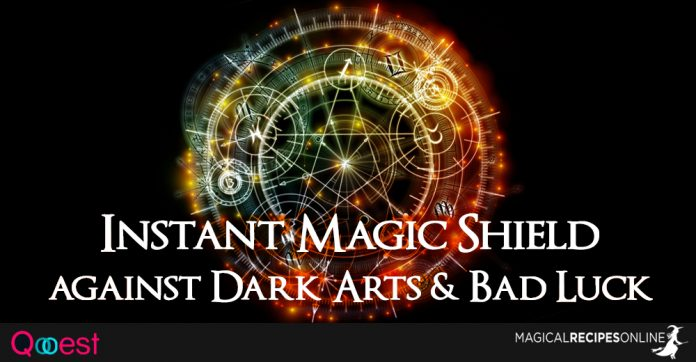 Instant Magic Shield against Dark Arts & Bad Luck