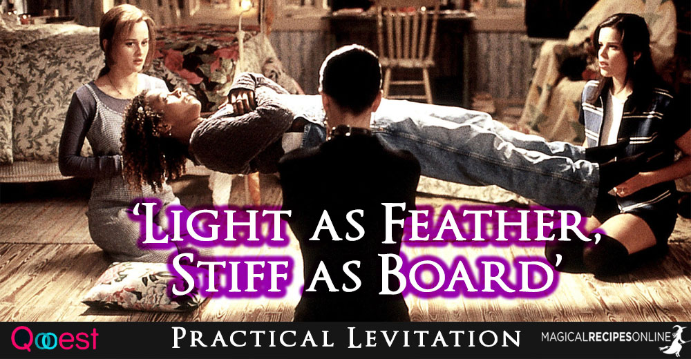"Levitation that Works: ""Light as Feather, Stiff as Board"""