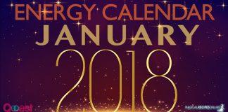 January 2018 Energy Calendar