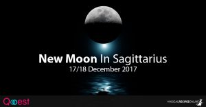 New Moon In Sagittarius - 17/18 December 2017
