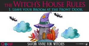 Witch's House Rules – Savoir Vivre for Witches