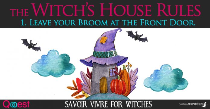 Witch's House Rules - Savoir Vivre for Witches