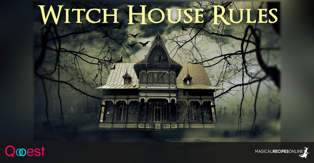 Witchu0027s House Rules   Savoir Vivre For Witches