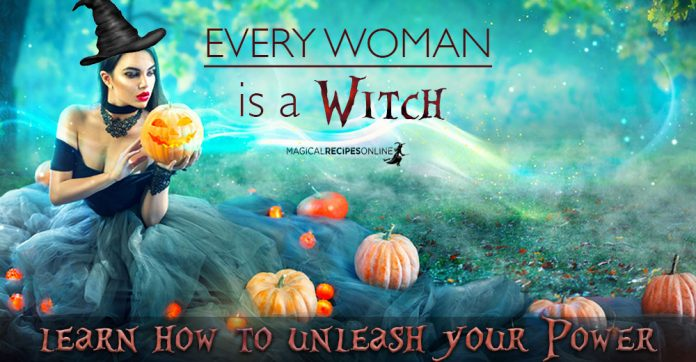 Every Woman is a Witch: Menstrual Blood - Sacred Magic in You
