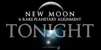 Predictions: Rare New Moon in Capricorn. January 17 - Planetary Alignment