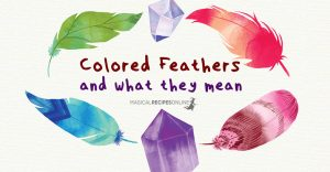 Finding Colored Feathers and their Meanings