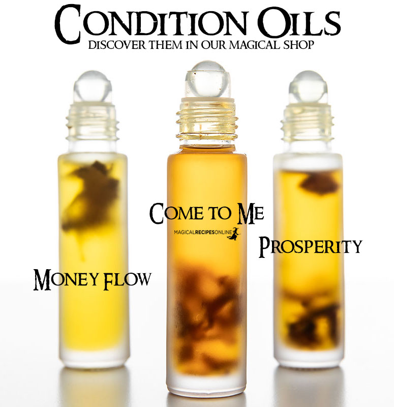 genuine condition oils hoodoo oils
