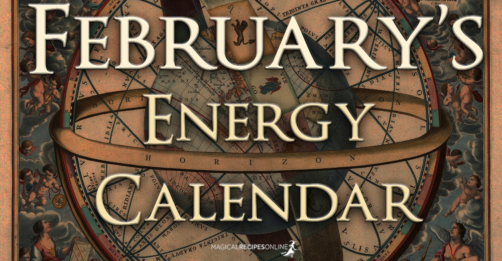 February Energy Calendar.
