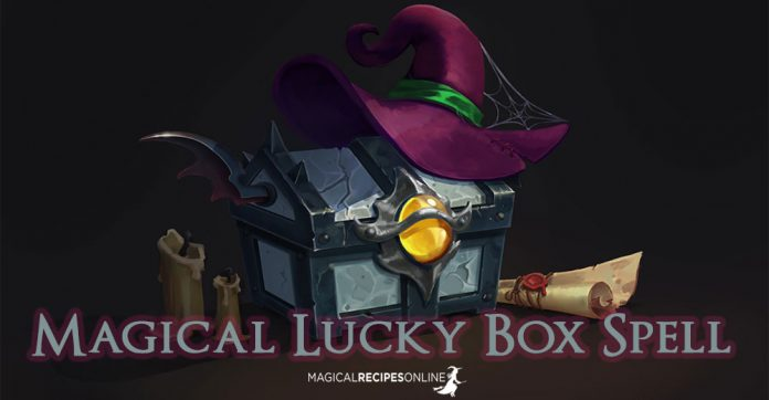 Magical lucky box spell magical recipes online How to spell luxurious