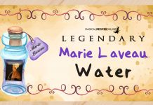 Marie Laveau Water - Recipe and Uses