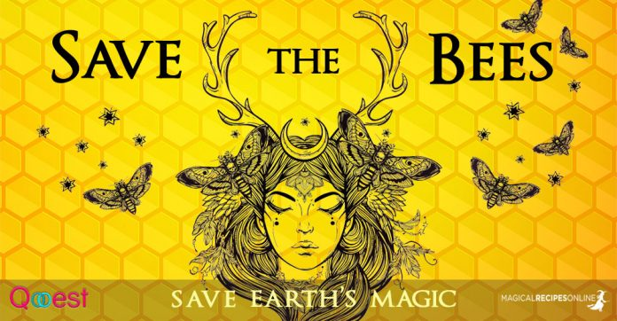 Save the Bees - Save Earth's Magic