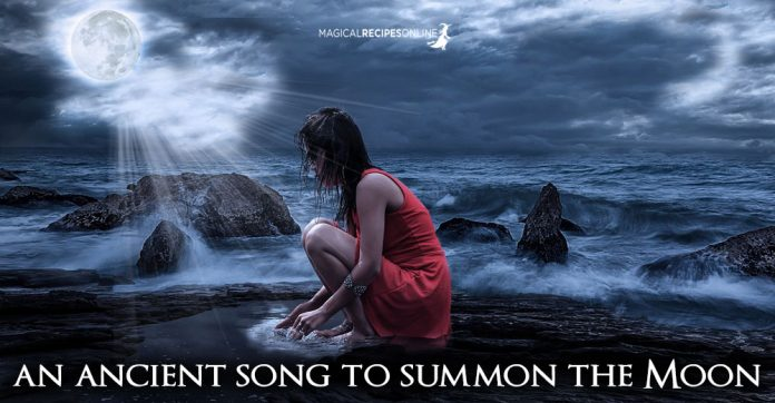 An ancient Song to Summon the Moon!