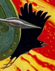 The Morrígan as Battle Crow