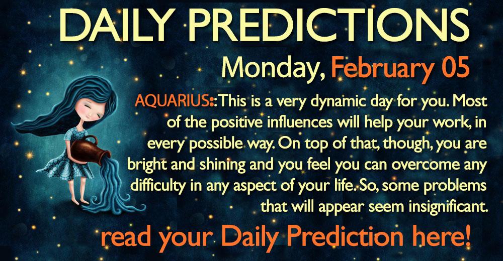 aquarius 5 february horoscope