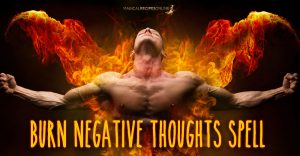 Burn your negative thoughts with this candle spell!