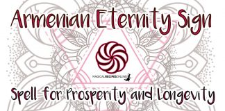 The Armenian Eternity Sign Spell for Prosperity and Longevity