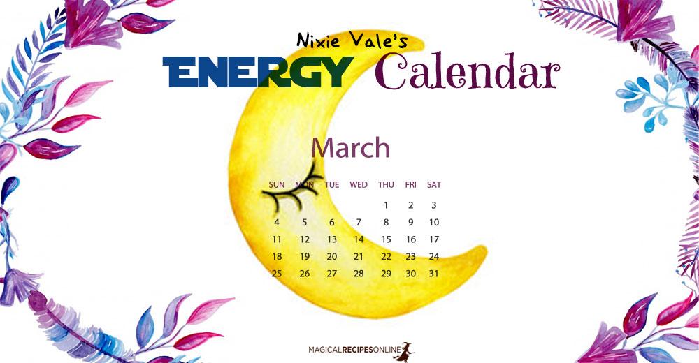 March's Energy Calendar